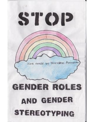 STOP GENDER ROLES AND GENDER STEREOTYPING by Massimo
