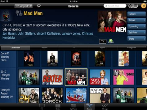 TiVo App for iPad Might Be the Ultimate Remote   WIRED
