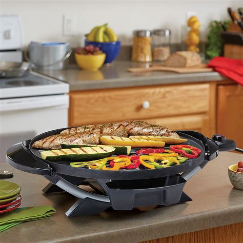 """George Foreman 240"""" Indoor/Outdoor Electric Grill Non"""