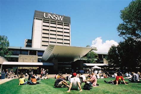 University Of New South Wales [UNSW], Sydney Courses, Fees