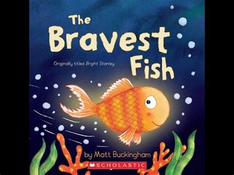THE BRAVEST FISH Read Along Aloud Story Book for Children