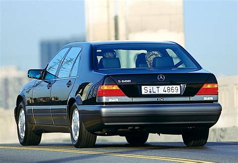 1991 Mercedes-Benz 600 SEL (W140) - price and specifications