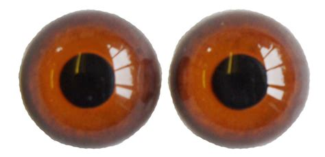 18mm Hare glass eyes - per pair