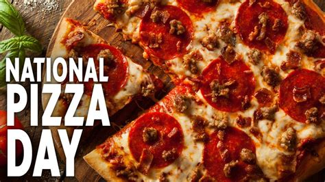 National Pizza Day 2021 - Holidays Today