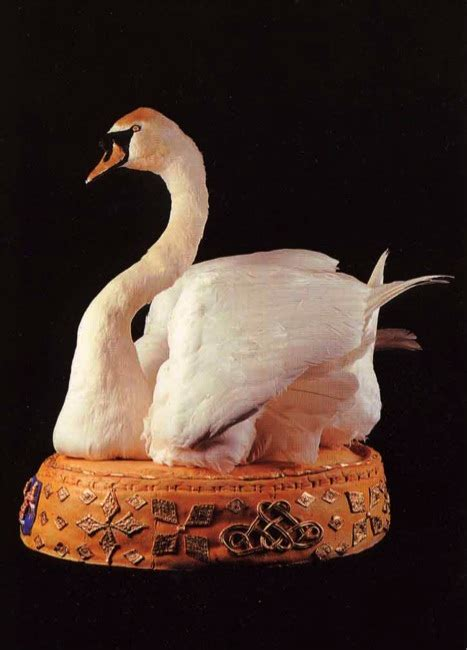Food History Jottings: A Swan Supper on the Thames