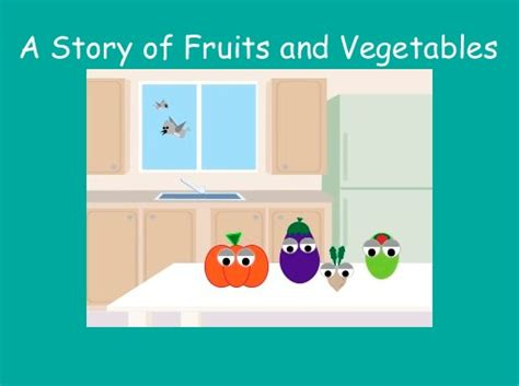 """""""A Story of Fruits and Vegetables"""" - Free Books & Children"""