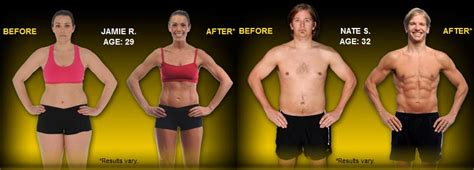 Focus T25 Before & After Results - FearlessLeeFit