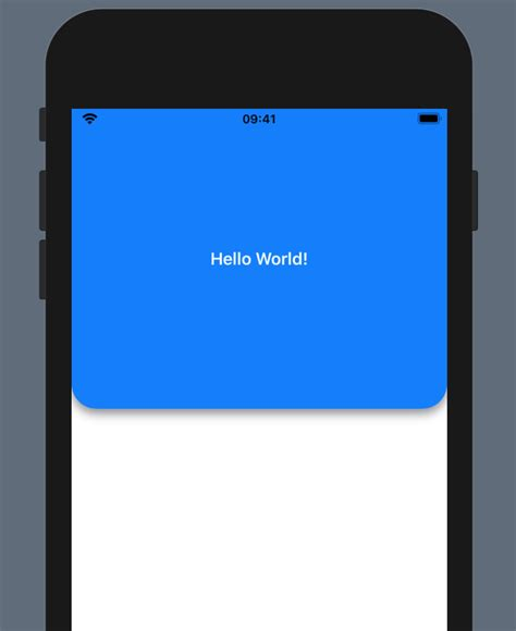 Rounded corner panels and masks in SwiftUI - Because
