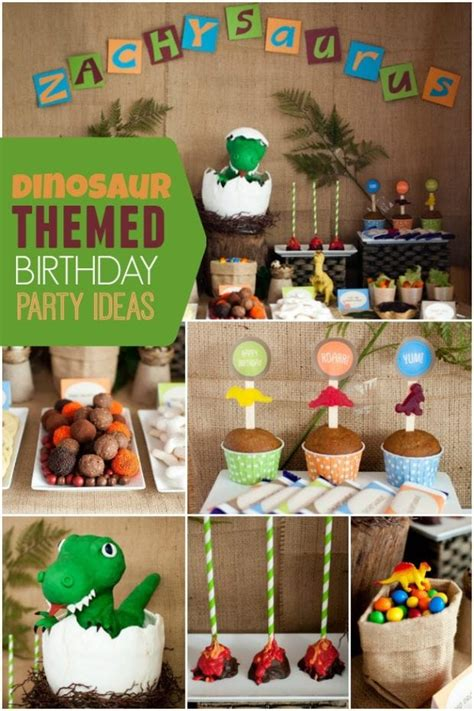 A Boy's Dinosaur Party | Spaceships and Laser Beams