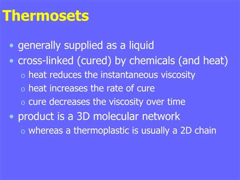 PPT - Thermosetting resins PowerPoint Presentation, free