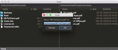 fman is a keyboard-powered file manager for desktops free